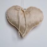 Herz mit Knopf Rückeite
