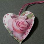 """Geschenkanhänger """"Rose"""""""