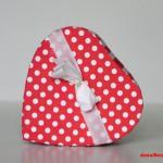 """GeschenkBox """"Punkte und Streifen"""" (c) Carola Peters"""